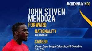 Chennaiyin FC's Stevin Mendoza