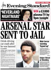 Pennant's Media Splash - Evening Standard