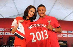 Arsenal Indonesia Trip