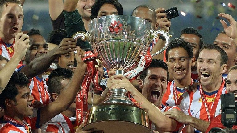Atletico De Kolkata, ISL Champions
