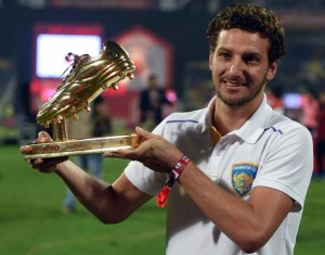 Elano, Golden Boot Winner