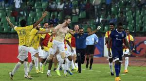 Stephen Pearson's Deciding Goal