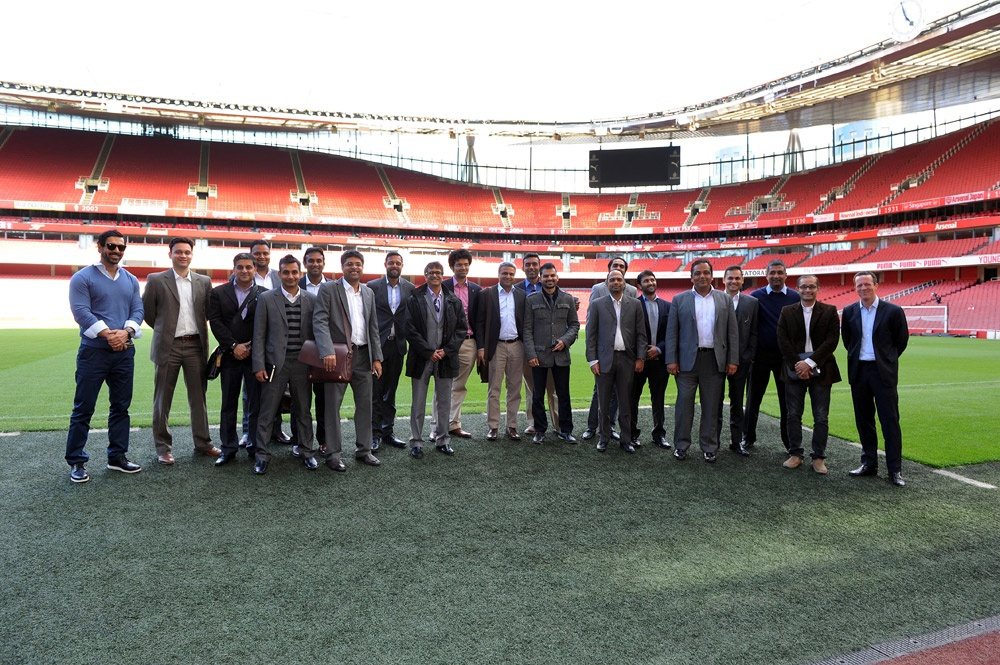 Indian Super League Organisers Visit Arsenal