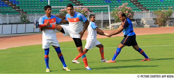 One Step for Robin Singh... leap in weight for teammate