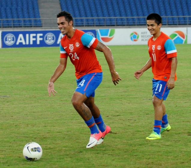 Sunil Chhetri & Robin Singh - the Warrior and the Rogue
