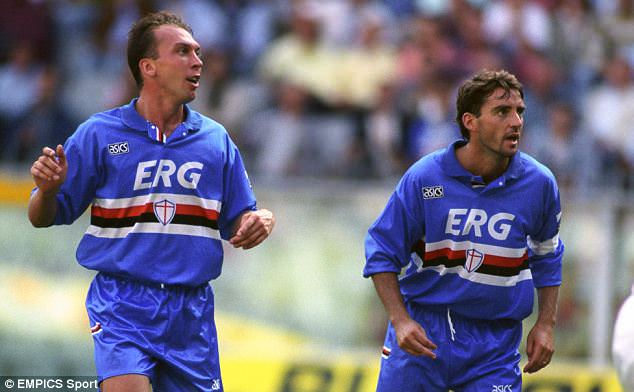 David Platt at Sampdoria