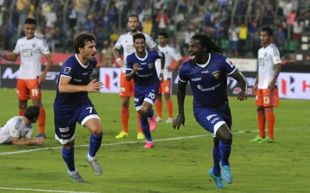 Chennaiyin FC - Bernard Mendy