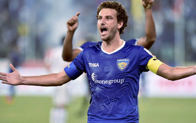 Chennaiyin FC - Elano Blumer