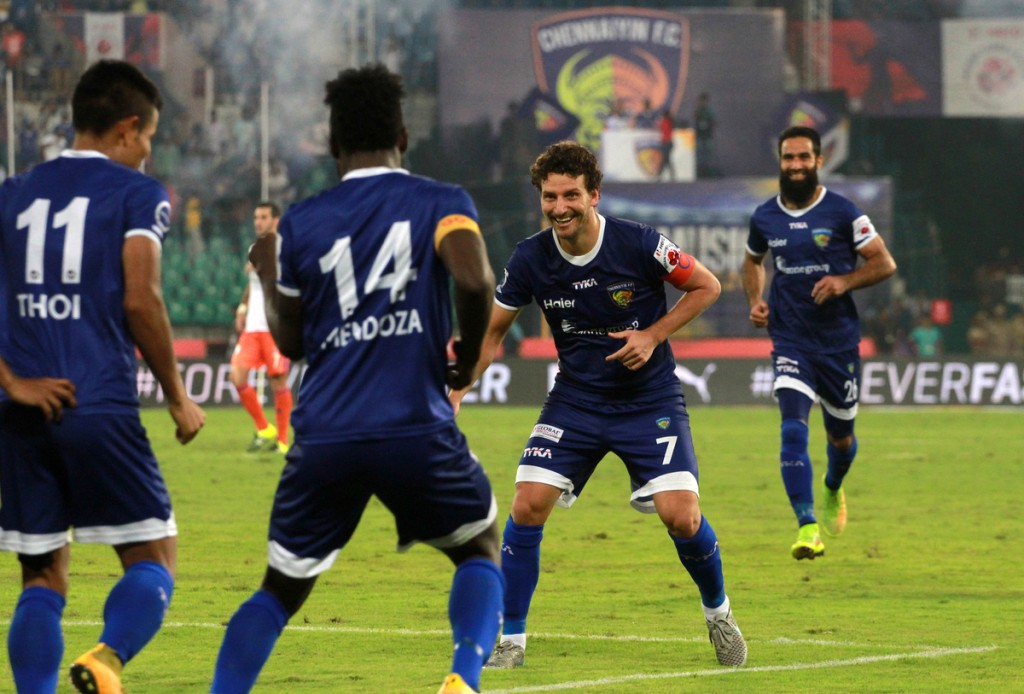 Chennaiyin FC - Stiven Mendoza