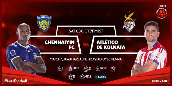 Chennaiyin FC vs. Atletico De Kolkata