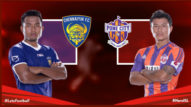 Chennaiyin FC vs. FC Pune City