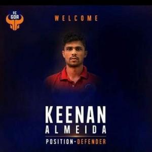 FC Goa - Keenan Almeida