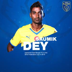 Kerala Blasters FC - Saumik Dey