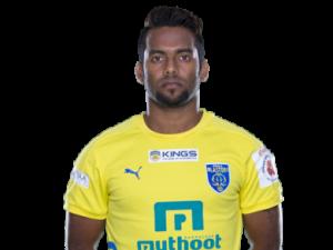Kerala Blasters FC - Cavin Lobo